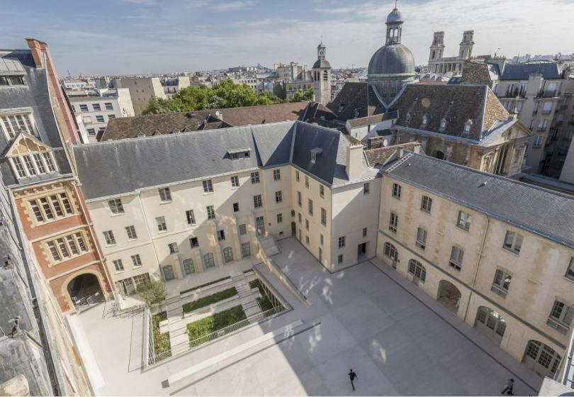 Campus ICP Paris ESQESE vue du toit