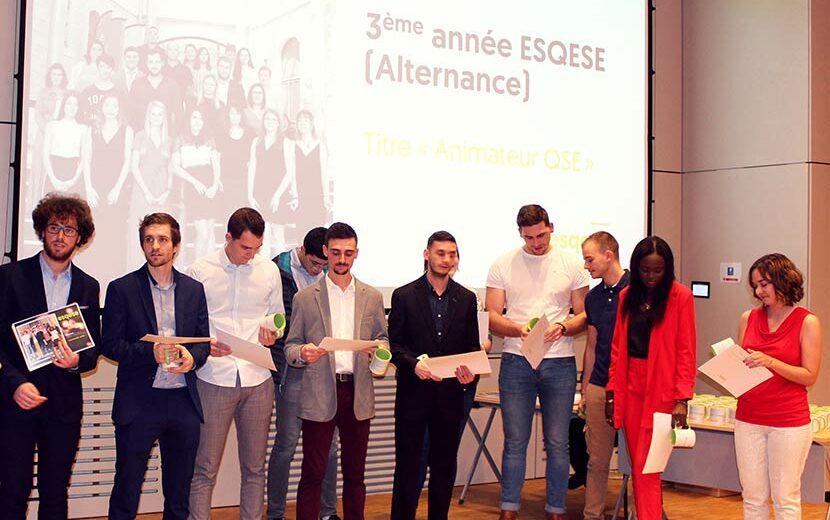 Cérémonie de fin d'études 2020 - Promo A3 Initial